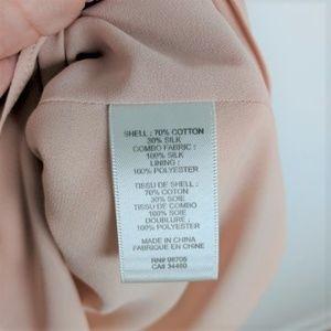 Rebecca Taylor Dresses - Rebecca Taylor Peach Floral Silk Blend Dress 4